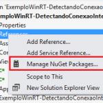 Detectando conexão à Internet em aplicativos para a Windows Store