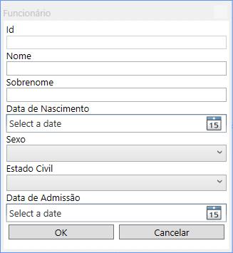 Exemplo de CRUD no WPF com MVVM - André Alves de Lima