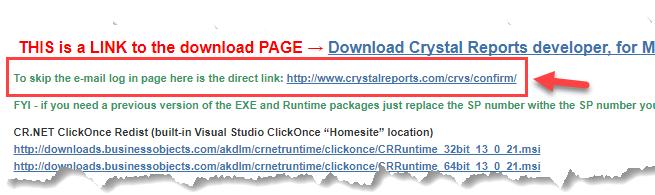 Suporte ao Crystal Reports no Visual Studio 2017 - André